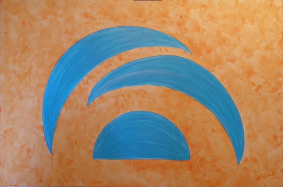 Acryl auf Leinwand 80x120cm